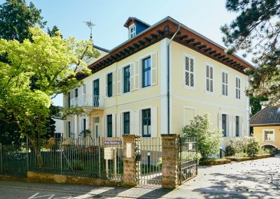 Villa Ludwig Ansicht Strasse