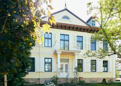 Villa Ludwig Frontalansicht